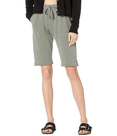 Splendid Mariposa Brushed Terry Bermuda Shorts
