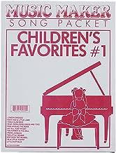 European Expressions Intl Children's Favorite Song Sheets for Lap Harp Music Maker