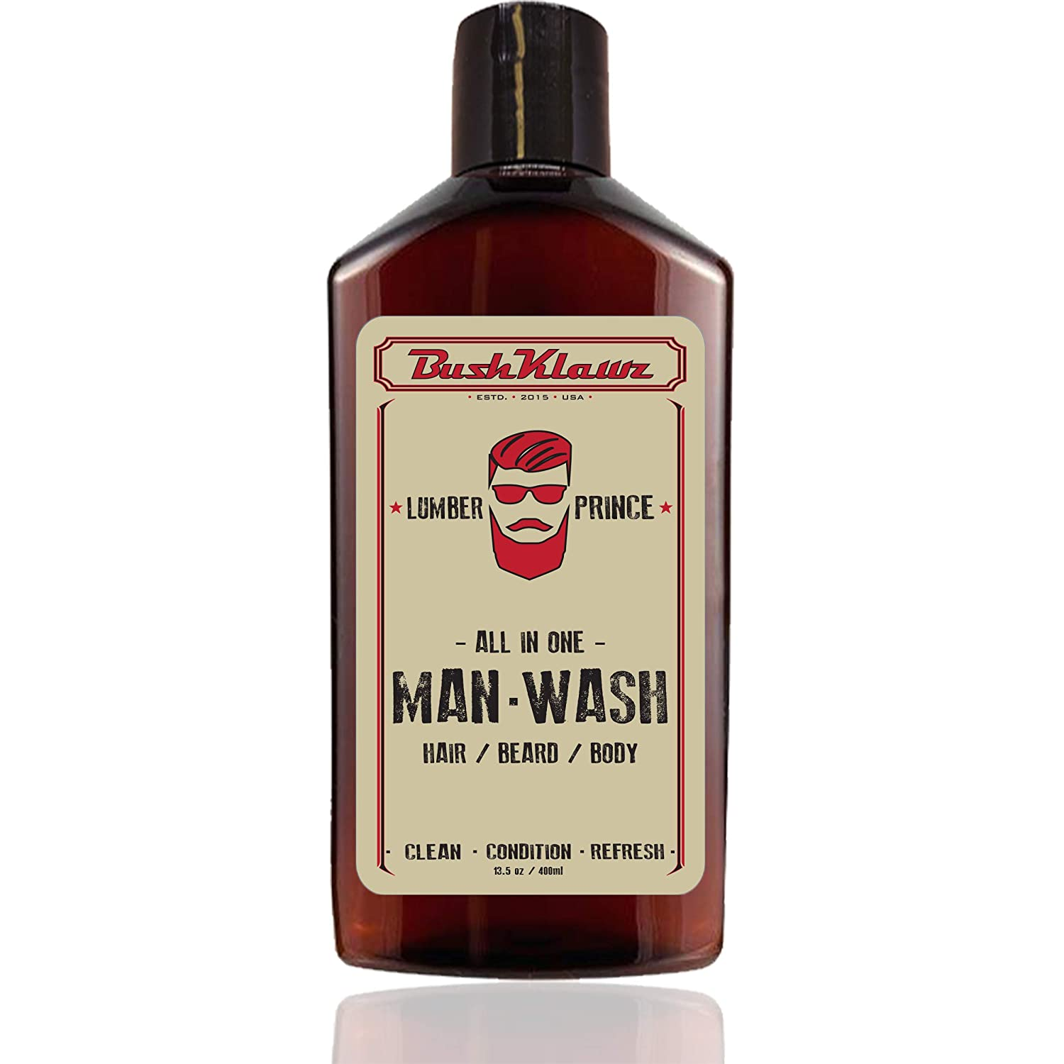 BushKlawz Lumber Prince Man New product Wash 13.5 One Beard High material in oz All Hair