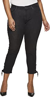 Levi's Women's Plus Size 711 Ankle Skinny with Lace up Jeans