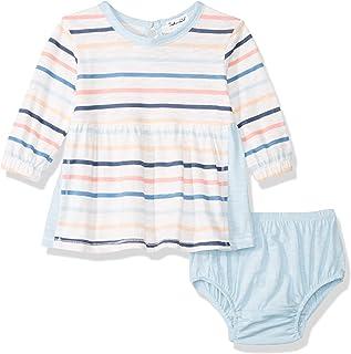 Splendid baby-girls Multi stripe long sleeve dress Casual Dress