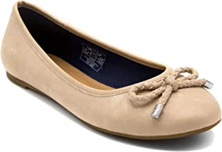 Nautica Women's Solana Ballet Flats-Casual Walking Shoes