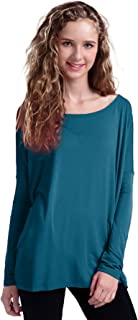 Women's Famous Long Sleeve Loose Fit Bamboo Top