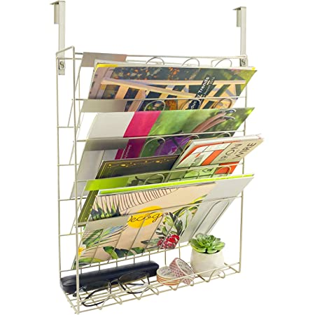 organizador de escritorio de metal estante para documento carpeta 1 par de soporte de revista Color : Oro carta y libro soporte de libro de libro de cocina forma de casa