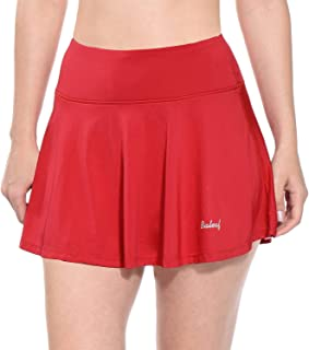 Best red tennis skirts Reviews