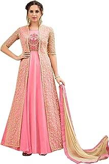 New Pattern Women Wedding Style Ceremony Dress Long Anarkali Salwar Kameez Suit Jacket Pant Style Custom 2759