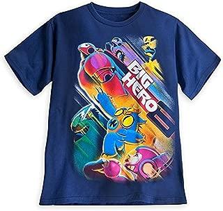 Store Big Hero 6 Baymax Tee T-Shirt Mens (XL) X-Large Blue