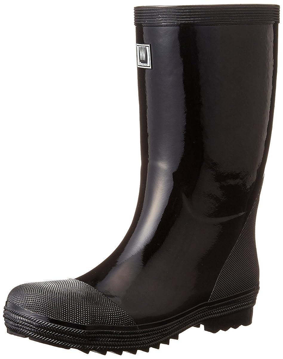 四面体商標油おたふく手袋/安全軽半ゴム長靴/WW-711 サイズ:24.5cm