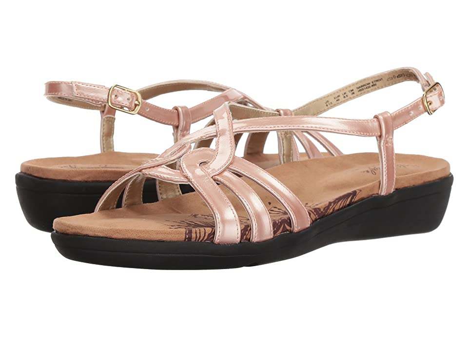 Soft Style Patrese (Rose Cloud Pearlized Patent) Women's Sandals
