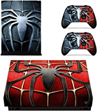 Adventure Games - XBOX ONE X - Spiderman - Vinyl Console Skin Decal Sticker + 2 Controller Skins Set