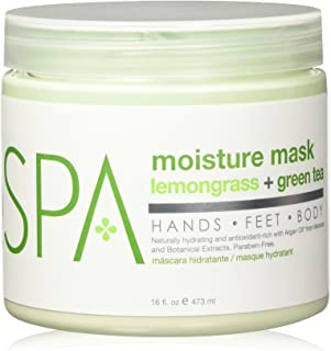 BCL SPA Moisture Mask Lemongrass + Green Tea ,16 oz