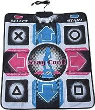 ダンスパッド Bewinner 滑り止め 耐久性 耐摩耗 高感度 ダンスステップ ダンスマット USB接続 幅広い互換性 PC用 ダンサーブランケット ダンスゲームパッド