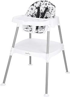 Evenflo 4-in-1 Eat & Grow Convertible High Chair (Pop Star Gray)