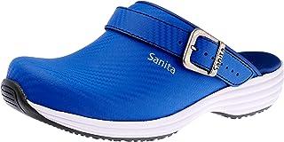 Sanita Wave Carbon Sabot Ouvert | Produit Original Fabriqué à la Main pour Femme | Semelle extrêmement antidérapante avec ...