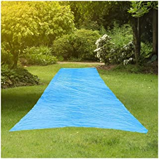 Resilia - Super Slip Lawn WaterSlide Jumbo, 50 Feet Long x 12 Feet Wide, for Kids and Adults, Powder Blue with Hold Steady...