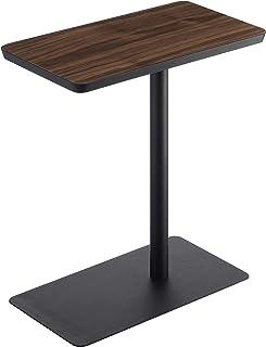 山崎実業(Yamazaki) 差し込み サイドテーブル ブラック 約W45XD25XH52cm タワー ソファーやベッド横で使いやすい ちょい置きテーブル 5121