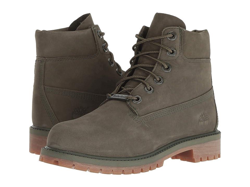 Timberland Kids 6 Premium Waterproof Boot (Big Kid) (Grape Leaf) Kids Shoes