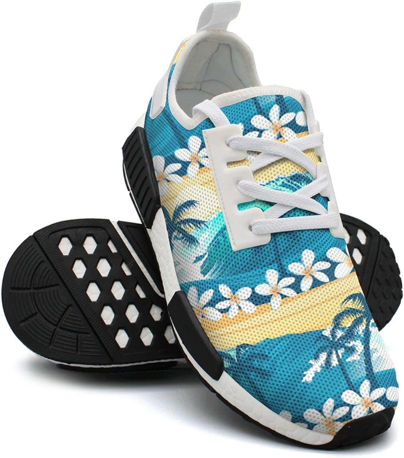 Tropical Surfing With Palm Trees Jogging shoes For Women Nmd Gym Training shoes