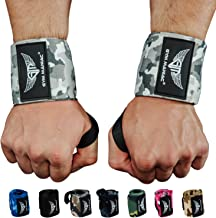 Gym Maniac GM Weightlifting Wrist Wraps - Ideal for Powerlifting, Weight Lifting, Crossfit, and Strength Training - Suppor...
