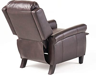 Christopher Knight Home Haddan PU Recliner, Burgundy
