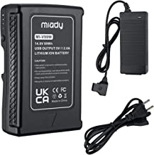 Miady 99Wh V-Mount V-Lock Battery Compatible with Sony Video Digital Camera Camcorder Broadcast Replacement Brick for DSL...