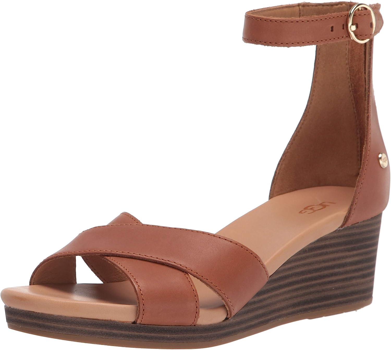 UGG Women's Eugenia El Paso Mall Wedge famous Sandal