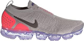 Nike Air Vapormax Flyknit MOC 2 Men's Shoes Moon Particle/Solar Red ah7006-201