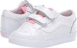 5f024a234c94c0 (White Giraffe) True White Strawberry Pink. 80. Vans Kids. Old Skool V  (Toddler).  27.99MSRP   40.00