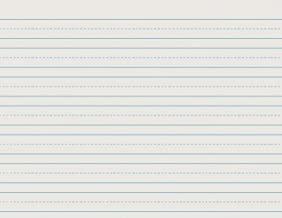 School Smart Skip-A-Line Ruled Writing Paper, 3/4 Inch Ruled Long Way, 11 x 8-1/2 Inches, Pack of 500