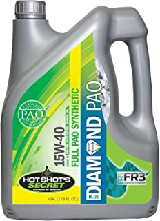 Hot Shot's Secret Blue Diamond 100% PAO Oil 15w40 CK4 1 Gallon