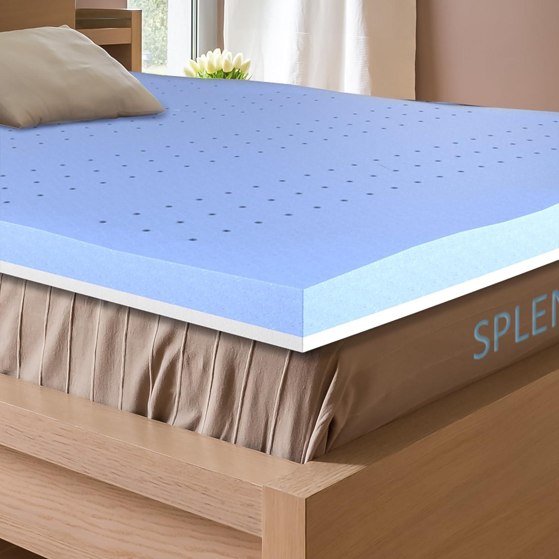 Firm 3 Inch Memory Foam Mattress Topper for Queen Size Bed