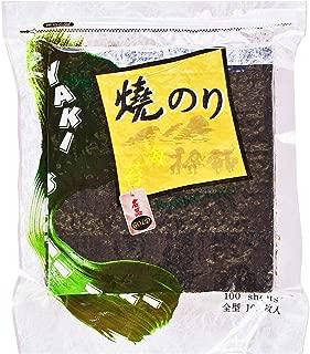 [NORIYA] Sushi Nori GOLD GRADE 280g Premium Roasted Seaweed (100 Full Sheets)