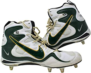 Reggie White Green Bay Packers Game Used Cleats Sept 14th 1997 Vs Miami Dolphins - NFL Game Used Cleats