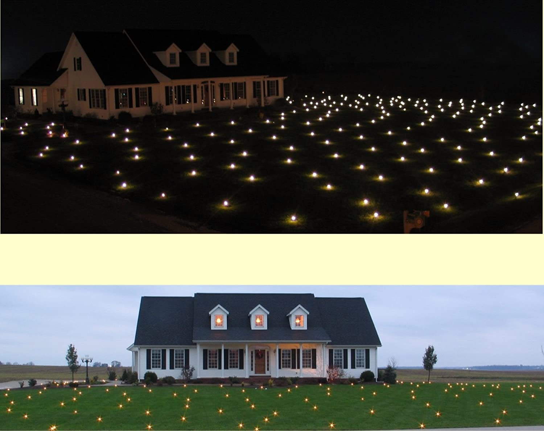 Lawn Lights Illuminated Outdoor Decoration, LED, Christmas, 72-04, Warm White