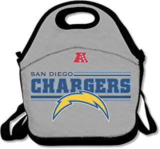 HJZN SUGER SD Chargers Logo Tote Bag Multifunction Waterproof Handbag Lunch Tote
