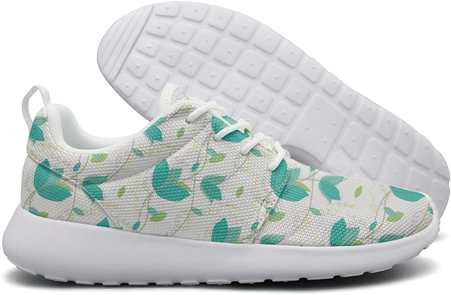 Hoohle Sports English Ivy Outdoor Live Plant Leaves White Womens Roshe One Flex Mesh Running shoes for Men