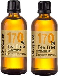 comprar comparacion Naissance Árbol de Té Australiano - Aceite Esencial 100% Puro - 200ml (2x100ml)