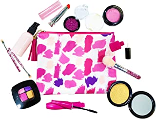 Kids Makeup Toys - Girl Pretend Play Set for Children - Kit for Dress Up Play - Birthday Gift for 3 4 5 6 - Comes with Sty...