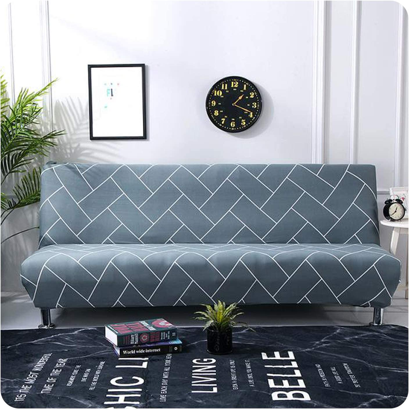 KASHINO Modern Sofa Bed Minneapolis Mall Mail order cheap Cover Spandex Couch Armless Stretch