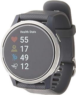 Garmin GM-010-02174-09 Vivoactive 4 GPS Smartwatch, Shadow Grey/Silver