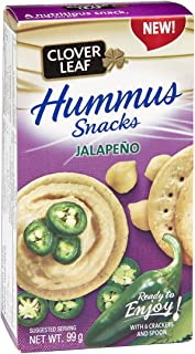Clover Leaf Hummus Snack Kit with Jalapeno, 12 Count