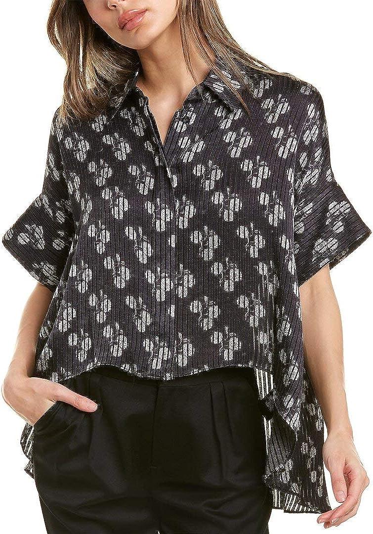 Alice + OFFicial Olivia Edyth shipfree Drapey Shirt