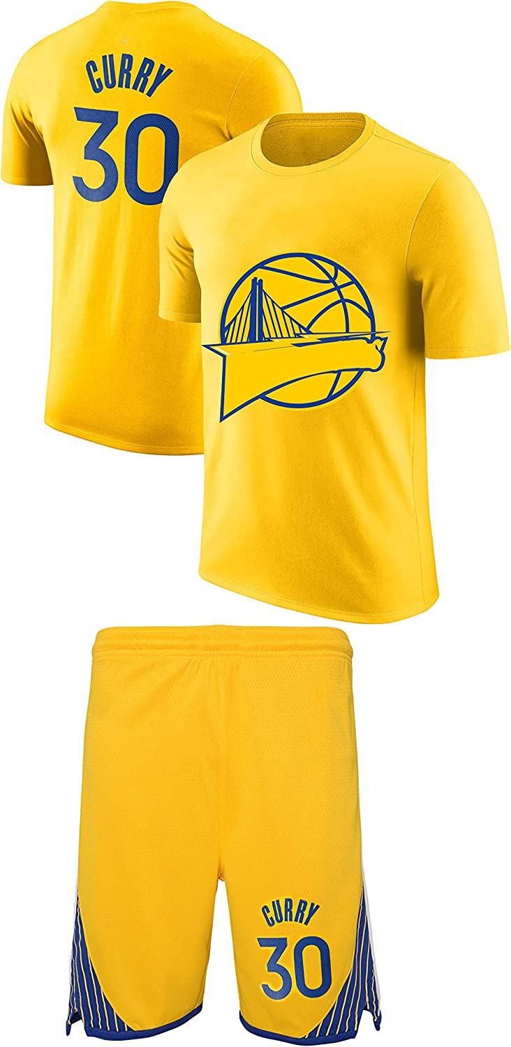 Forever Fanatics Curry Kids Basketball Jersey Style T-Shi Year-end annual account Cotton Many popular brands