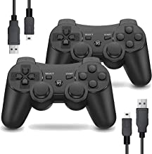Sponsored Ad - Burcica Wireless Controller for PS3, Gaming Gamepad Joystick Remote for PS3 6-axis with Charging Cord (2 Pa... photo