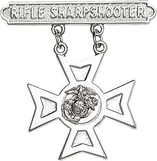 usmc rifle sharpshooter badge
