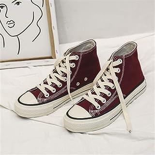 ZYSTMCQZ Zapatos de Lona de Las Mujeres Casual Mujer de Moda Zapatillas de Deporte los Calzados Informales de los Estudian...