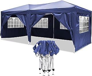 YUEBO Tonnelle Pliante imperméable 3x6 m Barnum Pliant Gazebo Tonnelle Pliable Tent Pliante Chapiteau de Reception pour Ja...