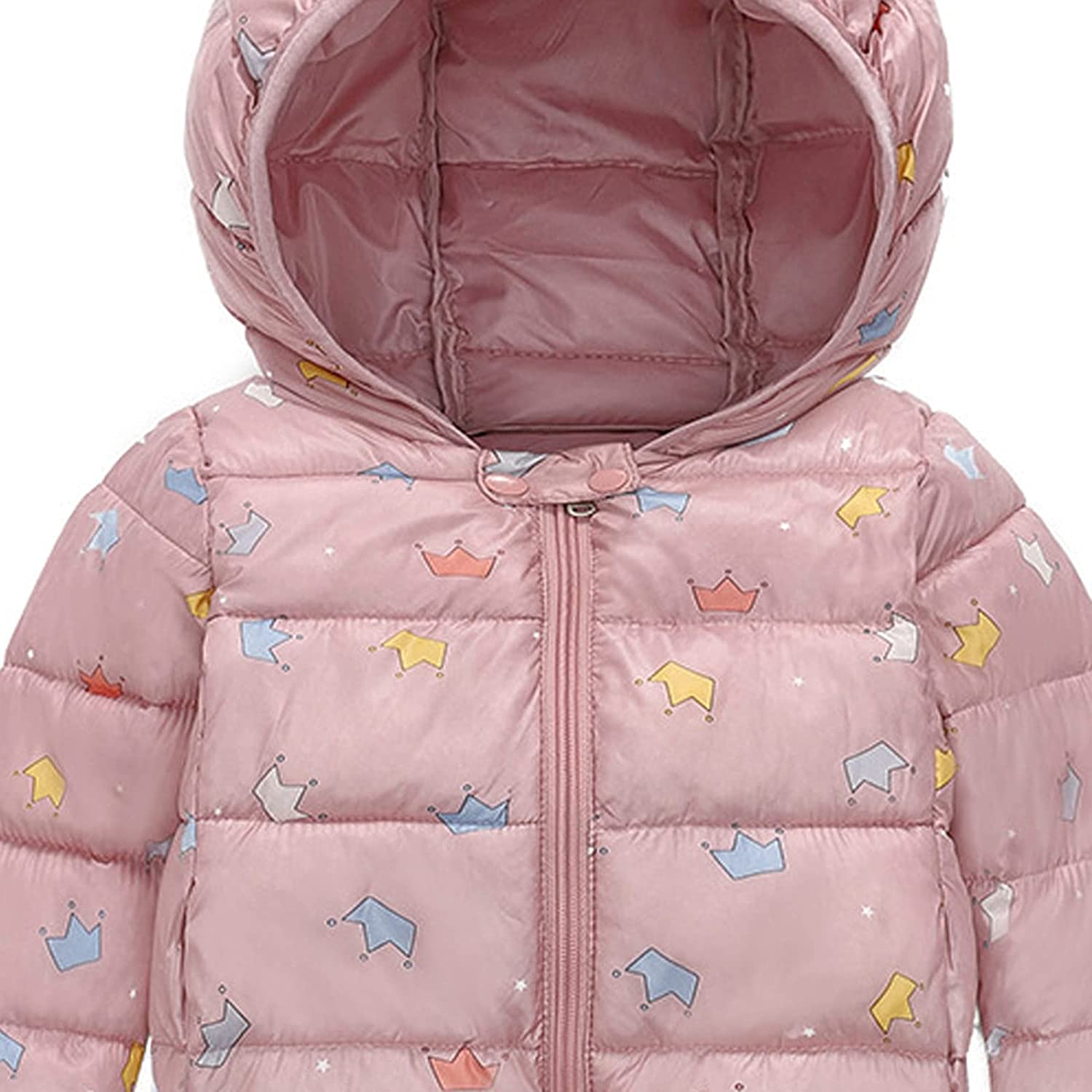 .ndg.dga Winter Fashion Toddler Baby Coat Thick Print Hooded Boy In a popularity Ranking TOP18