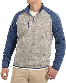 Alberta 1/4 Zip Sweater Knit Fleece Pullover
