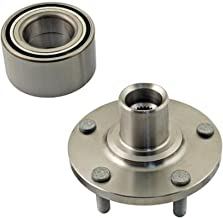 DTA D930608+NT510076 Front Wheel Hub Wheel Bearing Kit Left or Right Fits 2001-2002 Hyundai XG300 XG350 Tiburon 2.7L V6 Only